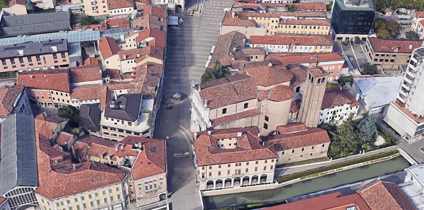 Restauro del Duomo di Mestre
